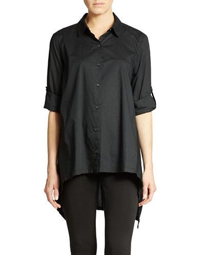 DKNY PURETrapeze Cotton Shirt