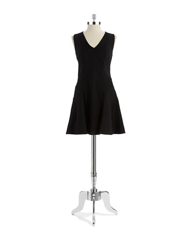 DKNYCSleeveless Fit and Flare Dress