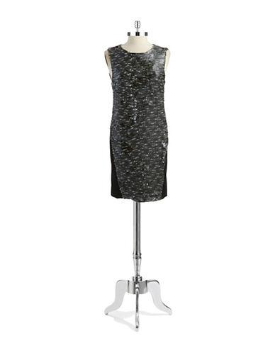 DKNYCSequined Shift Dress