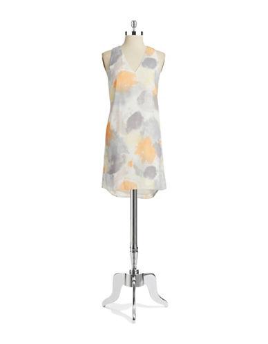 Shop Dknyc online and buy Dknyc Watercolor Shift Dress dress online