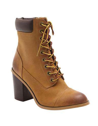 KENSIECharm Leather Ankle Boots