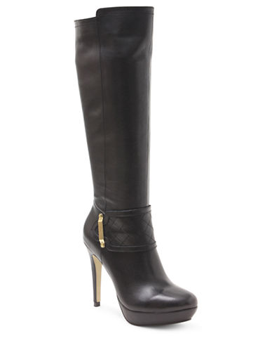 KENSIENenessa Leather Tall Boots