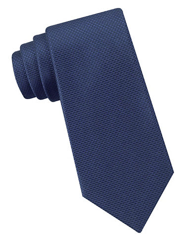 DKNYSlim Fit Golden Island Silk Tie