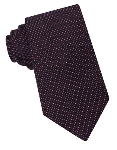 michael kors male microdotted silk tie