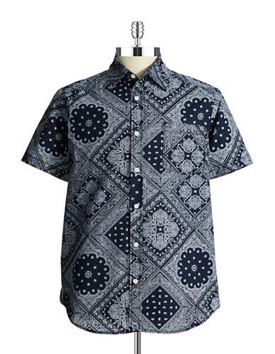 UNION JEANSPatterned Sport Shirt