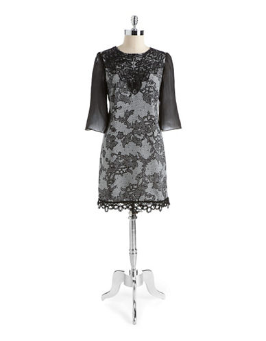 JAX STUDIO Lace Shift Dress