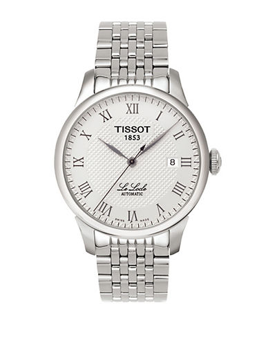 TISSOTMens Le Locle Automatic Stainless Steel Watch