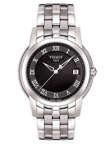 TISSOTMens Ballade lll Black Quartz Classic Watch