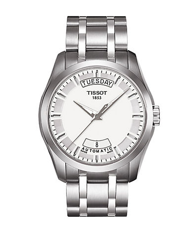 TISSOTMens Couturier Automatic Stainless Steel Watch