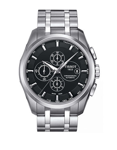 TISSOTStainless Steel Chronograph Watch