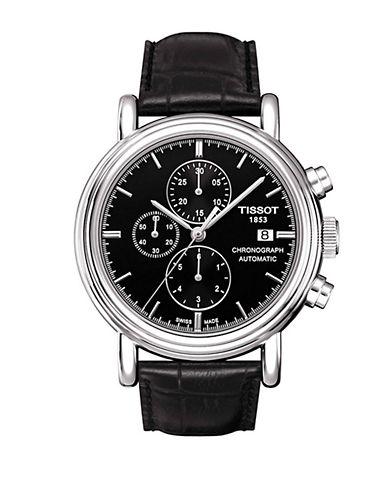TISSOTMens Black Desire Classic White Quartz Classic Watch