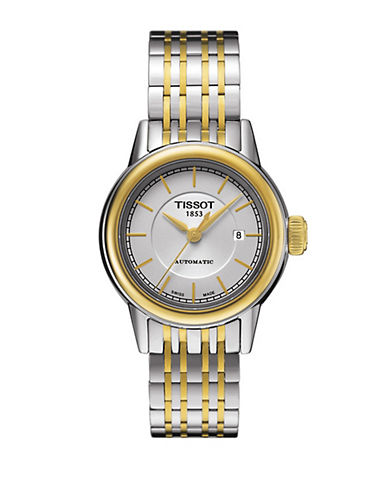 TISSOTMens Carson Automatic Two-Tone Stainless Steel Watch