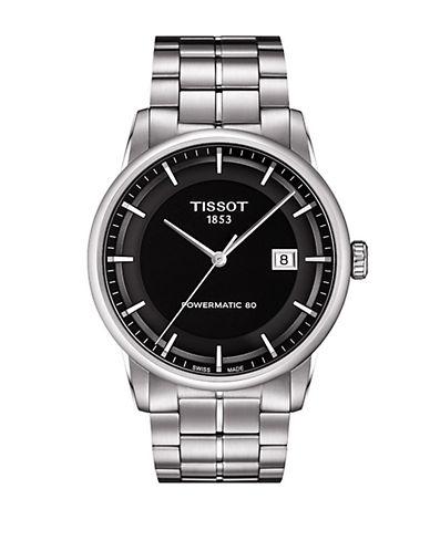 TISSOTMens Luxury Silver-Tone Watch