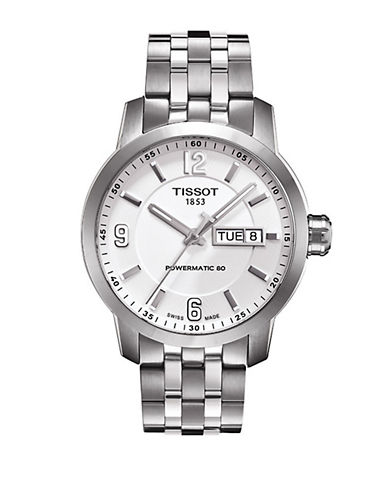 TISSOTMen's PRC 200 Automatic Stainless Steel Watch