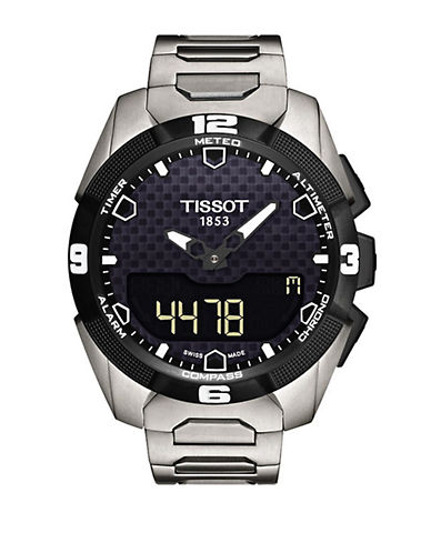 TISSOT Mens T Touch Solar Chronograph Watch