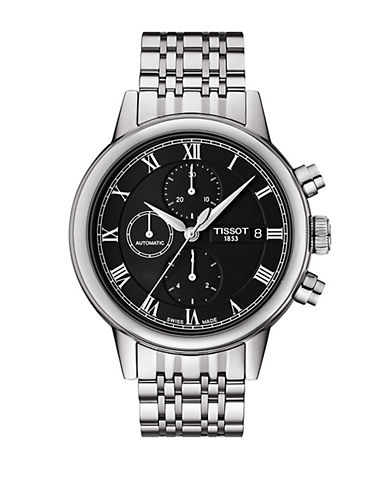 TISSOTMens Carson Automatic Chronograph Watch