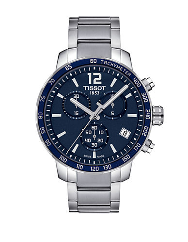 TISSOT Quickster Stainless Steel Chronograph Watch