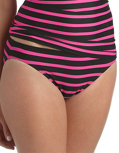 MICHAEL KORSJardin Striped Hipster Swim Bottoms