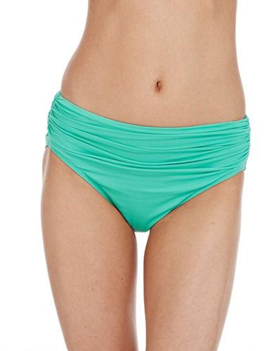 CARMEN MARC VALVOHipster Swim Bottom with Shirred Detailing