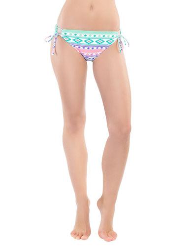 COCO RAVEPrint Side-Tie Swim Bottom