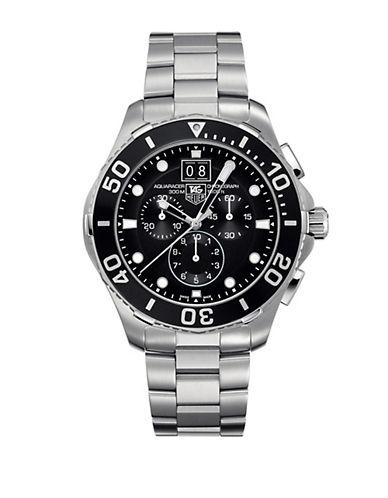TAG HEUERMens Aquaracer Black Dial Watch