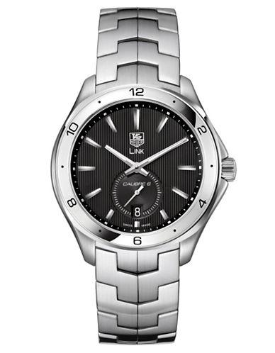 TAG HEUERMens Link Black Dial Watch