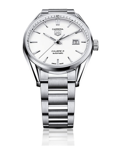 Carrera Calibre 5 Stainless Steel Bracelet Watch