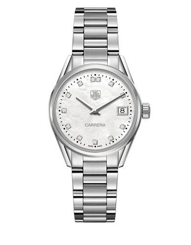 Carrera Fine-Brushed And Polished Steel Bracelet Watch, WAR1314BA0778