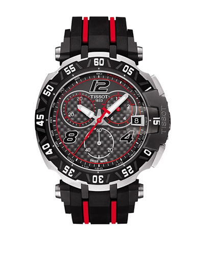 T-Race MotoGP Limited Edition Stainless Steel Rubber Strap Chronograph Watch