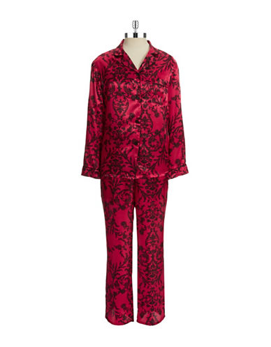 In Bloom Lacey Floral Pajama Set