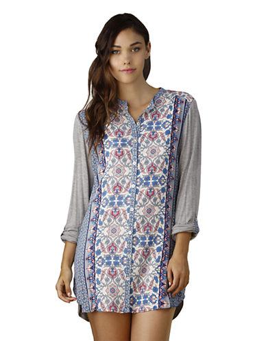 IN BLOOMMixed Print Sleep Shirt