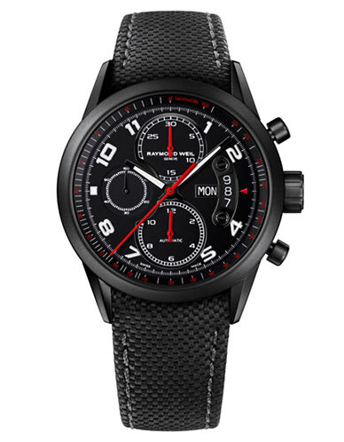 RAYMOND WEIL Mens Black Chronograph Watch