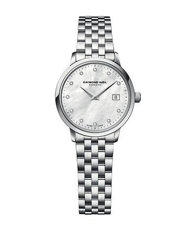 RAYMOND WEILLadies Toccata Silver Tone and Diamond Watch