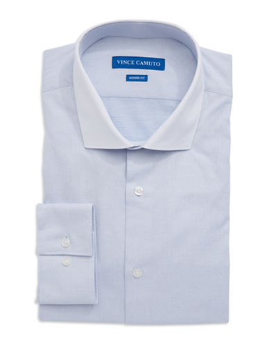 VINCE CAMUTO Modern Fit Dot Dress Shirt