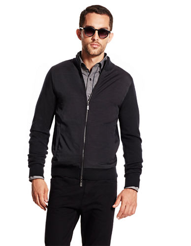 VINCE CAMUTOWool Blend Sweater Jacket