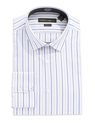 VINCE CAMUTO Modern Fit Striped Dress Shirt
