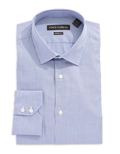 VINCE CAMUTOModern Fit Striped Dress Shirt
