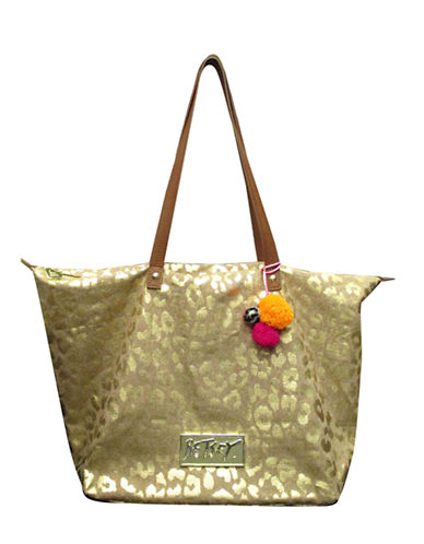 BETSEY JOHNSONGlam A Zon Canvas Tote Bag