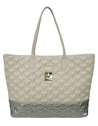 BETSEY JOHNSON Be Mine Again Heart-Quilted Tote