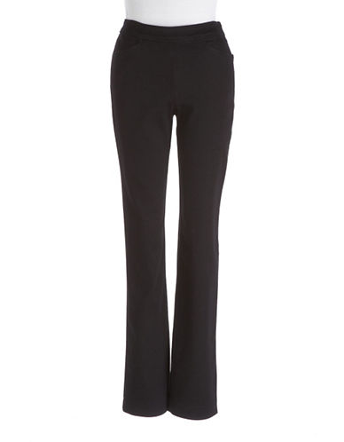 J Jones Womens Plus September Side-Zip Jeans