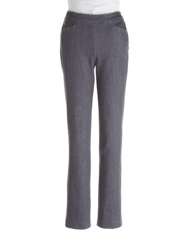 J JONES WOMENSPlus September Side-Zip Jeans