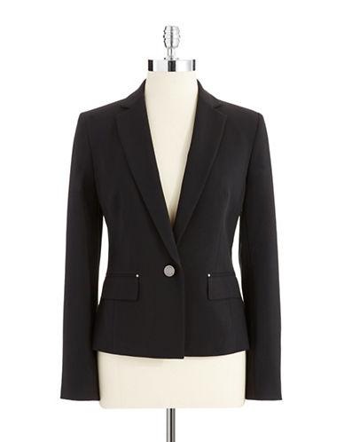 ANNE KLEINOne Button Blazer