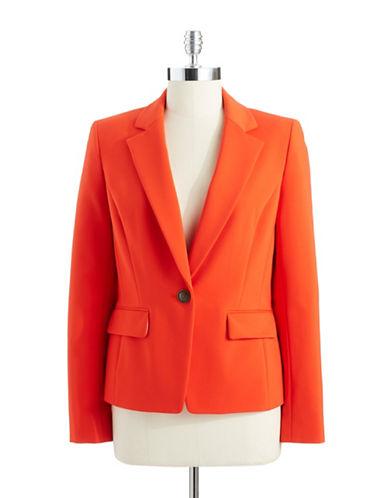 ANNE KLEIN PETITEPetite Flap Pocket Suit Jacket
