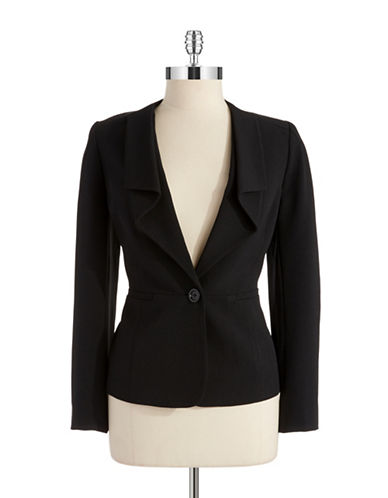ANNE KLEIN PETITEPetite Single Button Blazer