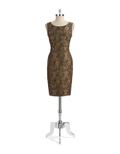 NIPON BOUTIQUEPaisley Sheath Dress