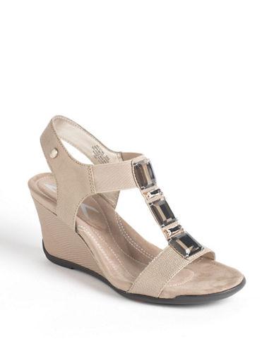 """AK Anne Klein """"Let Me"""" Wedge Sandal"""