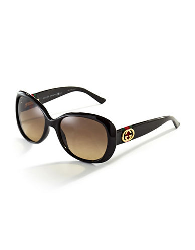 GUCCIRounded Sunglasses