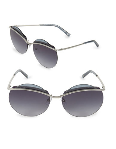 marc jacobs female 62mm ruth round sunglasses