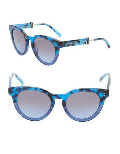 marc jacobs female 50mm round sunglasses
