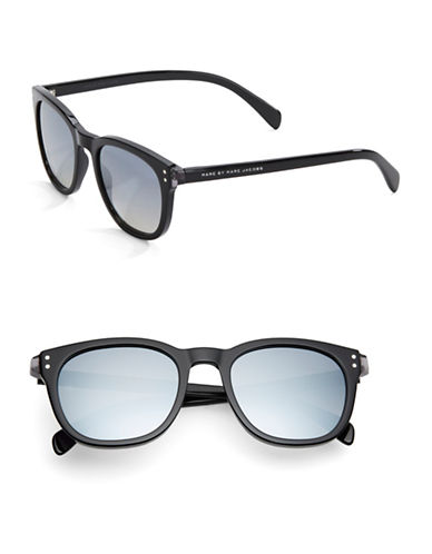 marc jacobs female 188971 50mm square wayfarer sunglasses